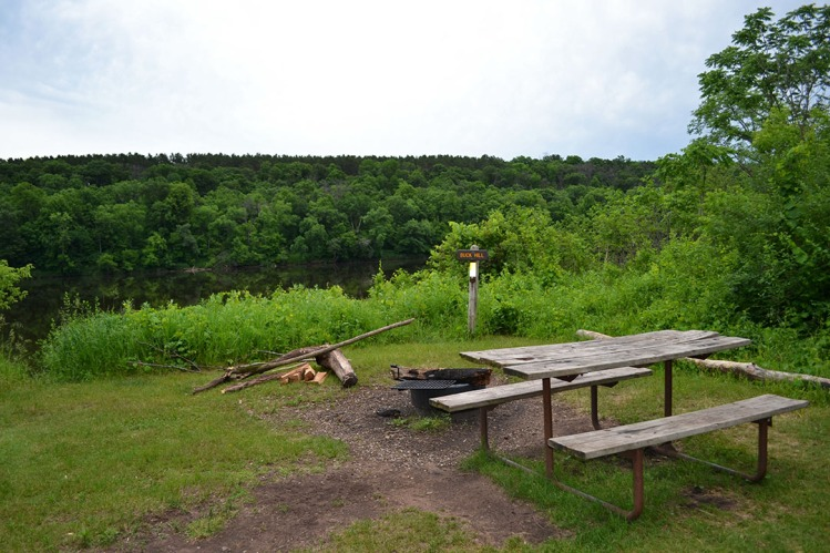 Minnesota Campsite