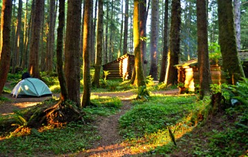 best-campgrounds-oregon-coast-ecola-state-park-tillamook-head-backpackers-camp